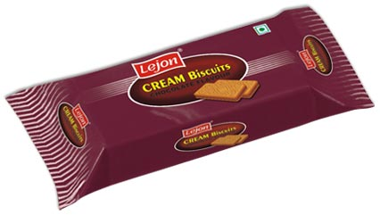 cream biscuit chocolate flavour